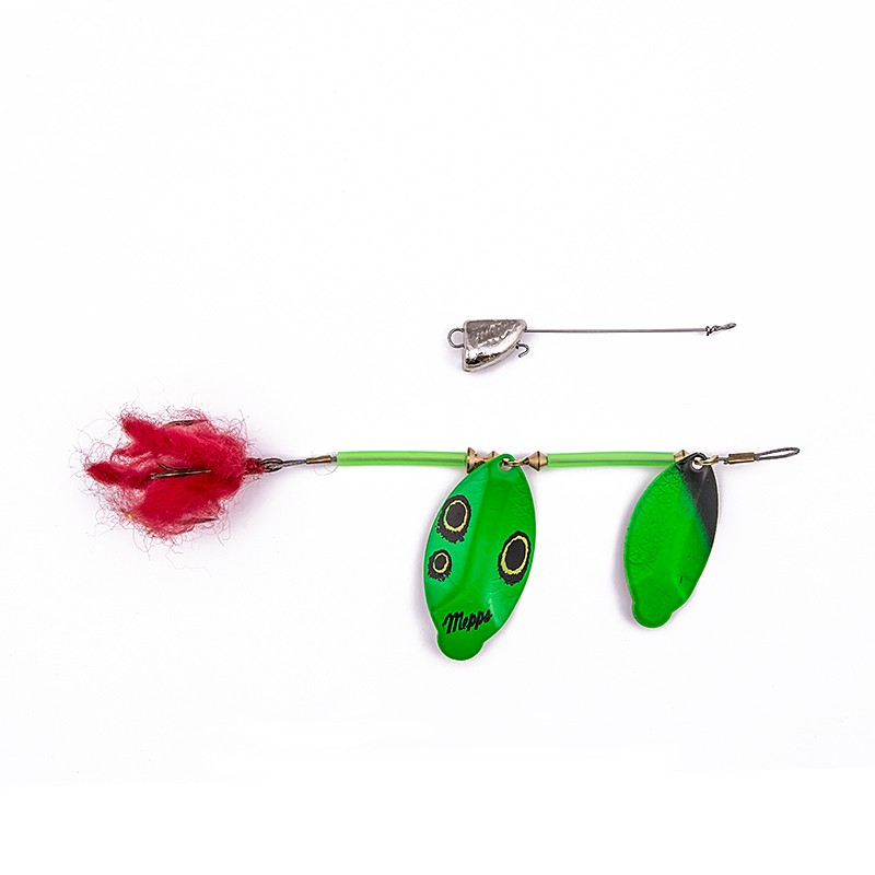 Pike Tandem Zielony Czarny